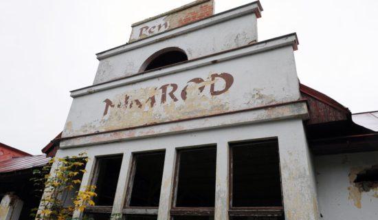 Opuštěný tajemný penzion Nimrod u Mariánských lázní