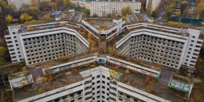 Nedostavěná nemocnice v Moskvě