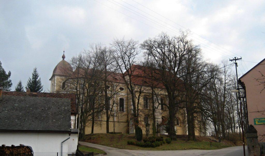 Bývalý augustiniánský klášter a kostel Zvěstování Panny Marie, Zaječov