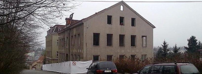 Měšťanská škola v Rochlici – horní budova