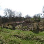 Ruiny kláštera ve Staré Vodě u Libavé