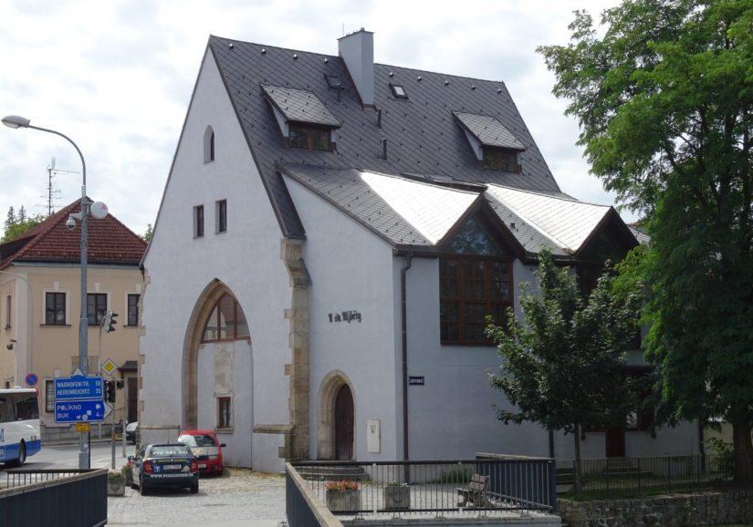 Bývalý kostel sv. Alžběty – Jindřichův Hradec