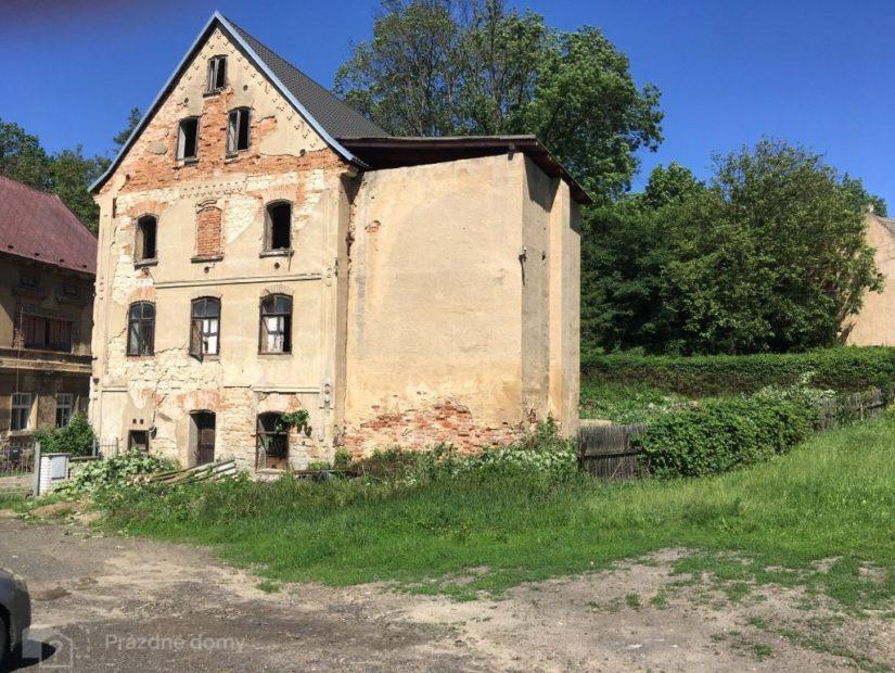 Kunertův mlýn - starší obytná budova