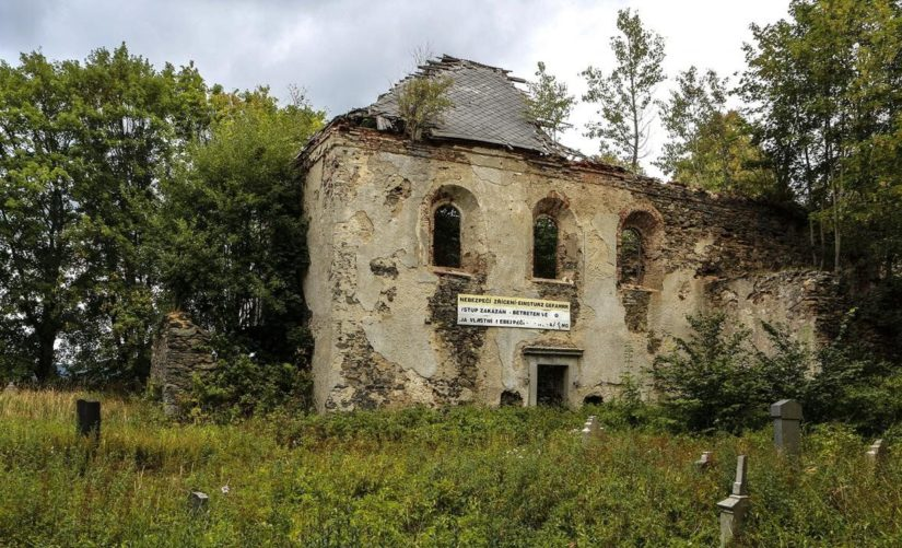 Zřícenina kostela sv. Anny