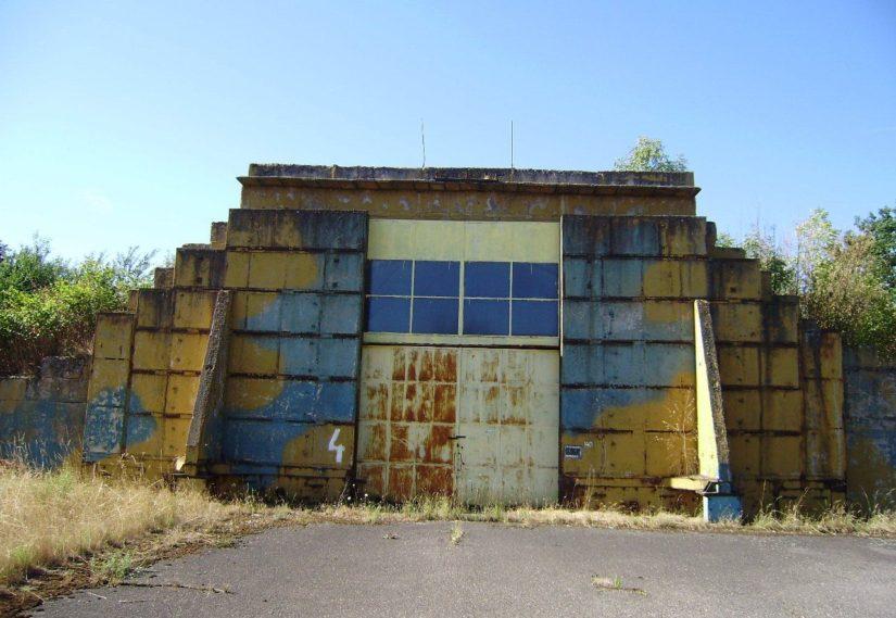 Hangáry Starý Mateřov